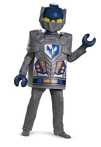 LEGO - Disfraz Deluxe del Personaje Clay de Nexo Knights