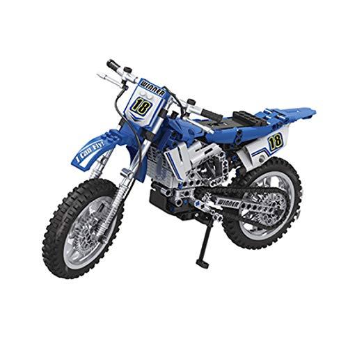 ColiCor Technic Modelo de Off-Road Motocicleta 474pcs 1:6 Juego de construcción de Technic Motocicleta Bloques para Alpinismo Motocicleta, Compatible con Lego Technic