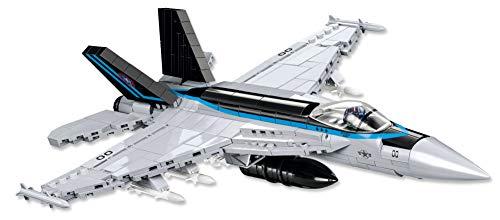 Avión de COBI F/A-18E Super Hornet ™ Limited Edition juguete de construcción bloques de construcción + alfombrilla de ratón de Juminox gratis