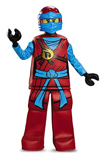Disguise Nya Prestige Ninjago LEGO Costume, Small/4-6X by Disguise