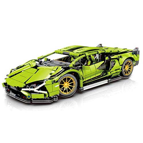 ColiCor 1254pcs 1:14 Scale Kits de modelismo de Coche Deportivo para Lamborghini Sián FKP 37, Technic Modelo de Coche Deportivo Bloques, Compatible con Lego Technic