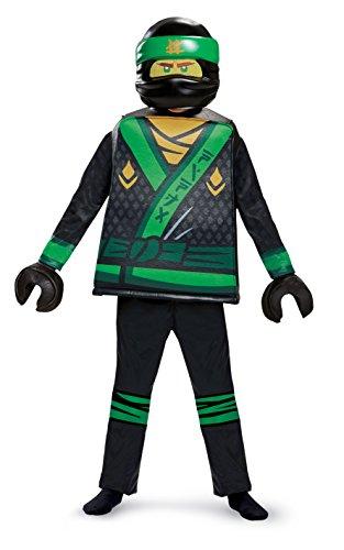 LEGO Ninjago Movie J. Lloyd Movie Deluxe S (4-6 años), Color Verde, 109-126cm (Jakks Pacific 23515L)