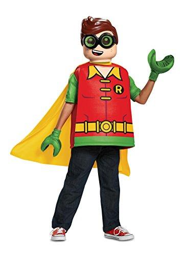 LEGO DISK66267K Disfraz clásico de CC, para niños, Robin, tamaño mediano