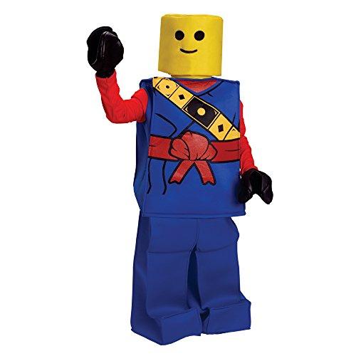 Viste a América del bloque de Halloween de los niños traje de Ninja Man - Tamaño Pequeño (4-6 años)