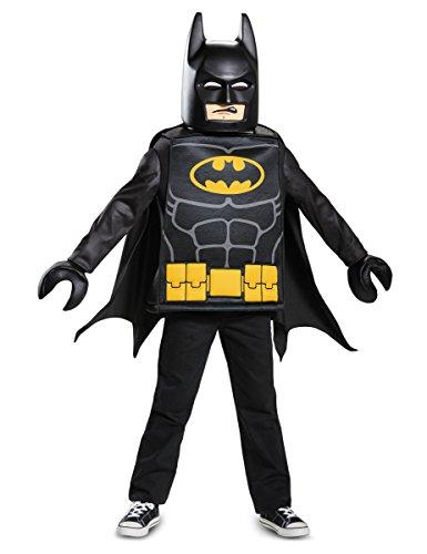 LEGO- Disfraz, Color Negro, 109-126 (4-6 Jahre) (Jakks 5)