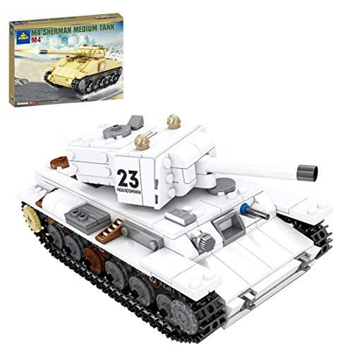 Tewerfitisme Technik 536Pcs KV-1 Tanque pesado, serie militar, bloques de construcción, juguetes de aprendizaje DIY con Lego