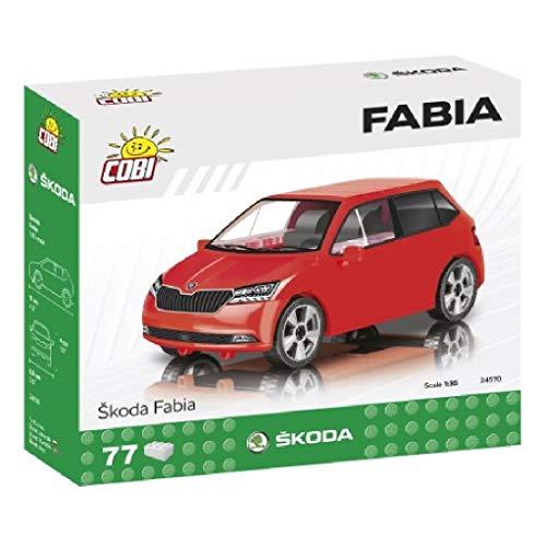 COBI 24570 Maqueta Coche Skoda Fabia. Escala 1:35 (77piezas) (COB24570)
