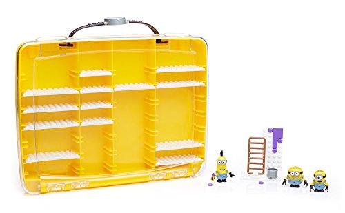 Mega Bloks - Maletin para Minions, Juego de construcción (Mattel DNC19)
