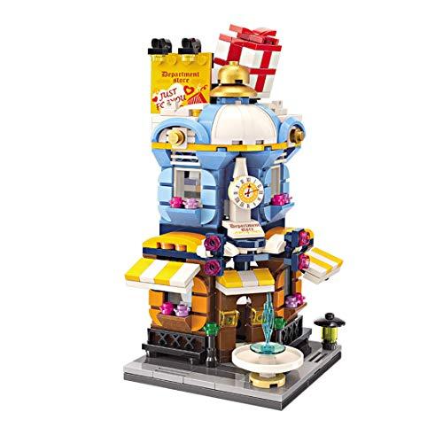 ColiCor Modelo de Construcción de Bloques 389 Piezas Grandes almacenes Construcción Edificio de Ladrillos Creativo Conjunto de Bloques, Compatible con Lego