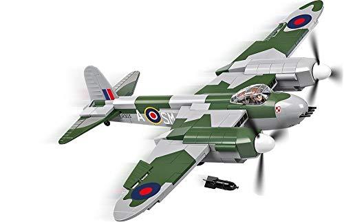 COBI-De Havilland Mosquito MK.Vi Avión, Color Verde y Gris y Negro (5542)