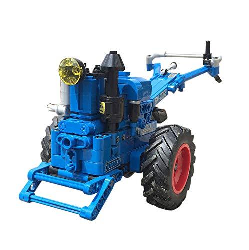 BGOOD Juego de construcción para vehículos de construcción de ingeniería, 248 bloques de sujeción, para tractor, coche, juego de construcción compatible con Lego Technic