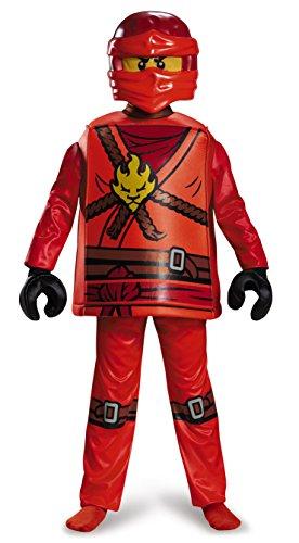 LEGO Ninjago 98105K Kai Deluxe Disfraz (Tamaño Mediano)