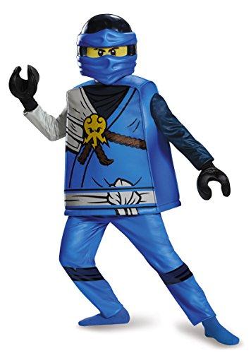 LEGO - Disfraz de Lujo de Ninjago Jay (Talla Grande)