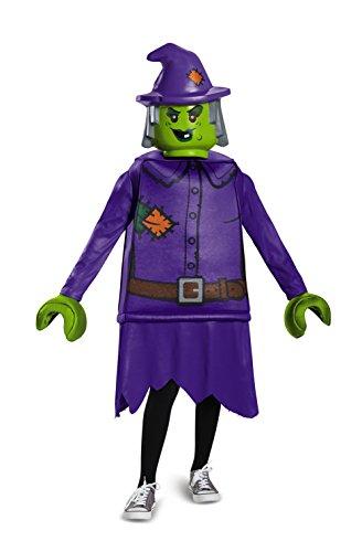 LEGO 18503K bruja–Disfraz (tamaño mediano, 7–8años)