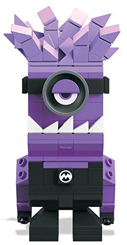 Mega Bloks Figuras coleccionables, Color Lila/Negro. (Mattel Spain DTW65)