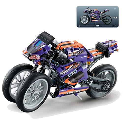 Technic Modelo de Off-Road Motocicleta, ColiCor 485pcs Juego de construcción de Technic Motocicleta Bloques para V4 Motocicleta, Compatible con Lego Technic