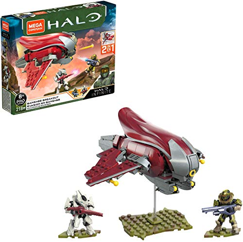Mega Construx- Halo Coche de Bloques de construcción (Mattel GNB24)