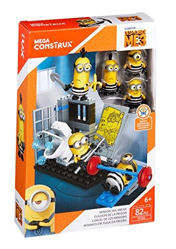 Mattel FFJ32 Niño/niña kit de figura de juguete para niños - Kits de figuras de juguete para niños (5 año(s), Niño/niña, Multicolor, De plástico, Dibujos animados, Minions (animated film))