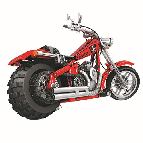 ColiCor Technic Modelo de Alpinismo Motocicleta 568pcs Juego de construcción de 1: 6 Technic Motocicleta Bloques para Alpinismo Motocicleta , Compatible con Lego Technic
