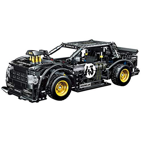 ColiCor Technic Sports Car Model, 823pcs Kits de modelismo de Coche Deportivo para Ford Mustang, Technic Modelo de Coche Deportivo Bloques, Compatible con Lego Technic
