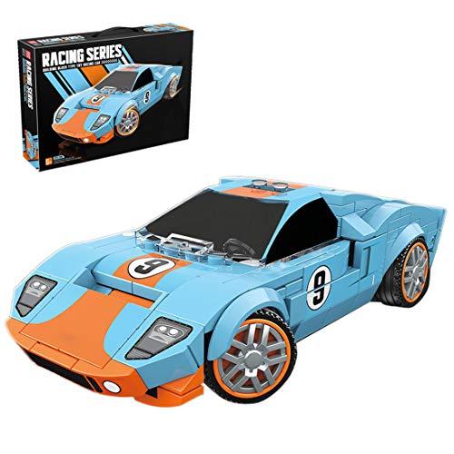 BGOOD Bloques de construcción para coche, 321 bloques de montaje para coche, para coches de carreras y ciudad, compatible con Lego Technic