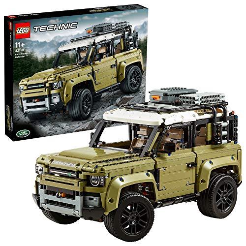 LEGO42110TechnicLandRoverDefenderModelodeExposiciónColeccionableTodoterreno4x4