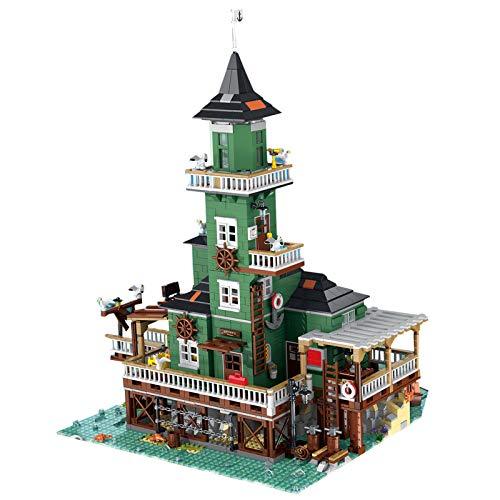 HYZM Architecture Model Building Blocks, conjuntos de construcción modular para faros y construcción compatible con Lego - 3452 piezas