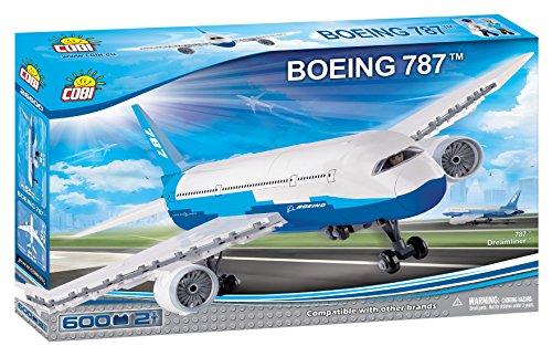 COBI - Boeing 787, avión de pasajeros, Color Blanco (26600)