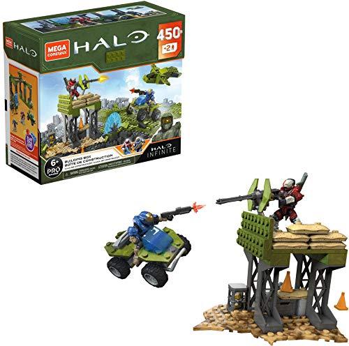 Mega Construx- Pro-Builder Halo Caja de Bloques de Construcción niñas +8 años (Mattel GPT03)