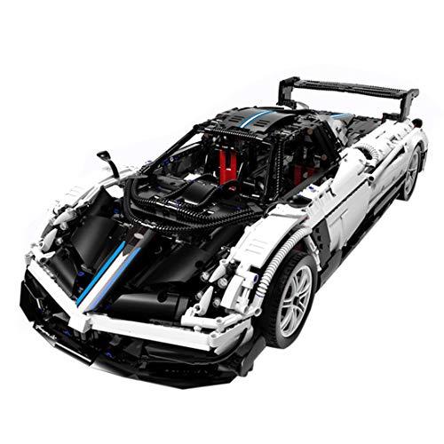 HYZM Technic Car for Pagani Zonda, 3000 piezas de bloques de construcción para coche deportivo 1:8, juego de construcción compatible con Lego