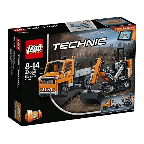 LEGO Technic - Equipo de Trabajo en Carretera (42060)