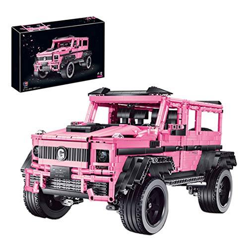 ColiCor Technic Modelo de Camión Offroad, 2687pcs 1:8 Scale Juego de construcción de Technic Coche Deportivo Bloques para Land Rover Defender, Compatible con Lego Technic