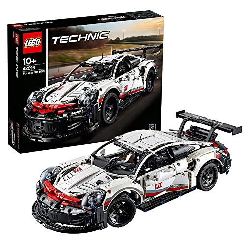 LEGO42096TechnicPorsche911RSRModelodeColeccionistadeCochedeCarrerasSetdeConstrucciónparaNiños+10años