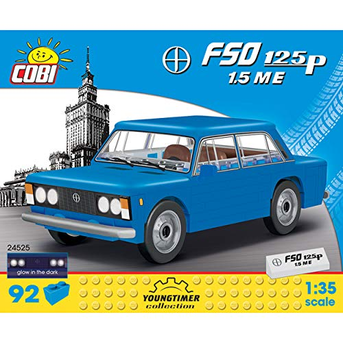 cobi- Coches / 24524/1965 FIAT 500 Abarth (595) (COBI-24525)