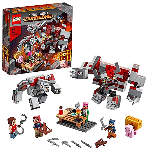 LEGO 21163 Minecraft LaBatallaporlaPiedraRoja, Juguete de Construcción
