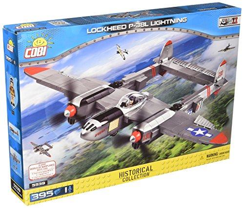 COBI- Lockheed P-38L Lightning, avión (5539) , color/modelo surtido
