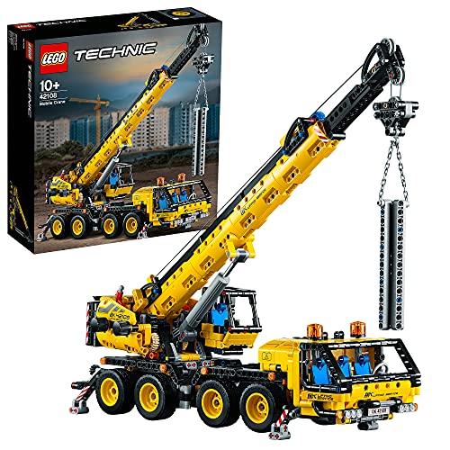 LEGO42108TechnicGrúaMóvilJuguetedeConstrucciónparaNiñosyNiñas+10años