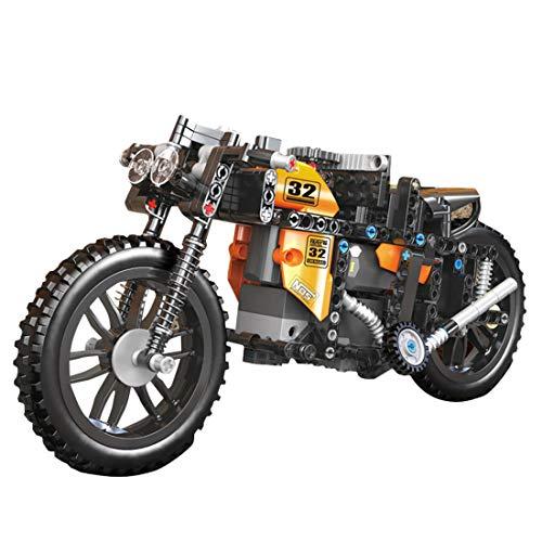 ColiCor Technic Modelo de Off-Road Motocicleta 383pcs 2.4G Control Remoto Juego de construcción de Technic Motocicleta, Compatible con Lego Technic