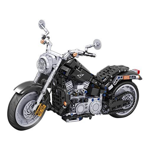 ColiCor Technic Modelo de Motocicleta 709pcs Juego de construcción de 1: 6 Technic Motocicleta Bloques para Ducati Panigale V4 R Motocicleta , Compatible con Lego Technic
