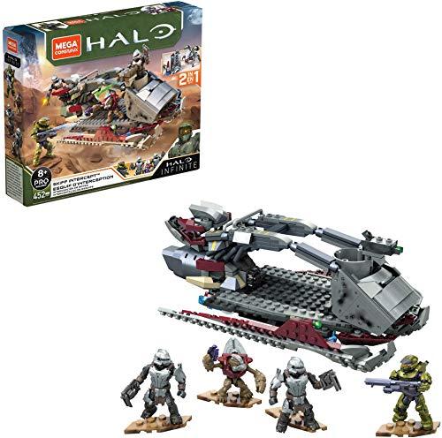 Mega Construx- Halo Coche de Bloques de construcción (Mattel GNB21)
