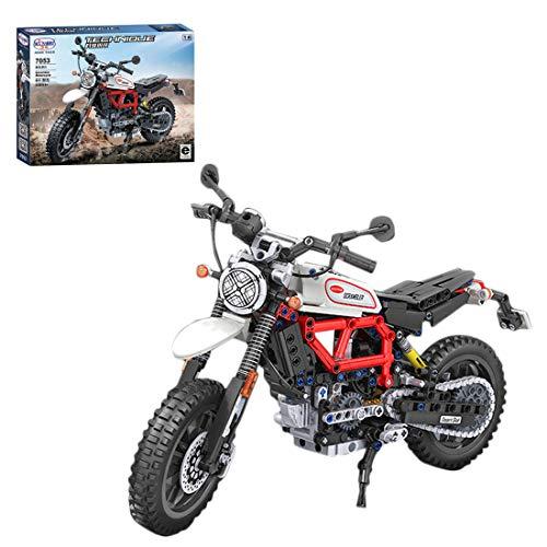 ColiCor Technic Modelo de Alpinismo Motocicleta, ColiCor 611pcs Juego de construcción de 1: 6 Motocicleta Bloques para Alpinismo Motocicleta, Compatible con Lego Technic