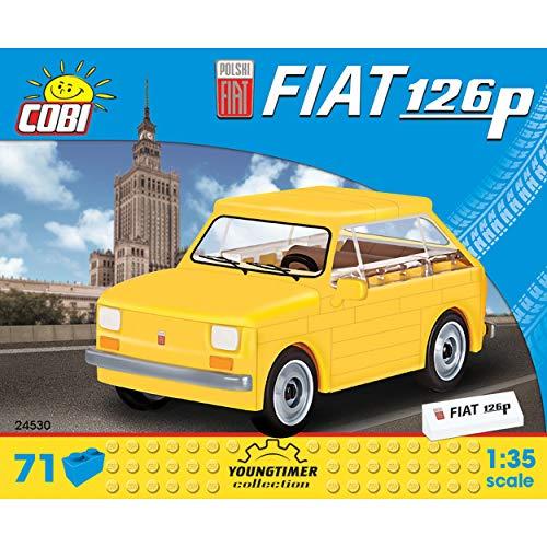 Cobi Polski Fiat 126p 1:35 Youngtimer Collection,Modelo de un Coche Retro, Coche retrofriccion , Coche Replica, Oldtimer, 71 Partes