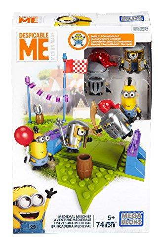 Mattel Mega Bloks DPG69 - Juego de Caballeros con diseño de GRU, mi Villano Favorito