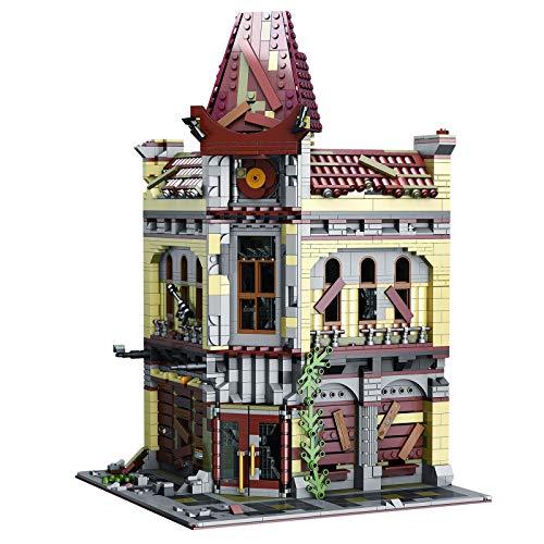 BGOOD Juego de construcción para casa, Super 18k K127, 2193, bloques de construcción con sujeción, cabinas modulares, teatro, maqueta, arquitectura, casas, compatible con Lego Creator Expert