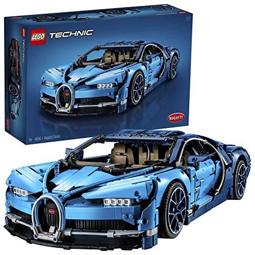 LEGO42083TechnicBugattiChiron,SetdeConstruccióndeCochedeCarreras,ModeloaEscaladeDeportivoColeccionable
