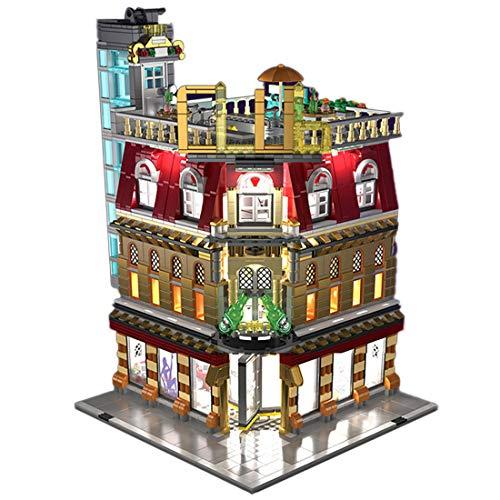 ColiCor Modelo de Construcción de Bloques 2488Pcs Club Nocturno Edificios de Juguete Construcción Edificio de Ladrillos Creativo Conjunto de Bloques, Compatible con Lego