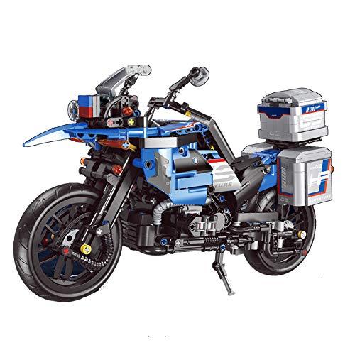 ColiCor Technic Modelo de Off-Road Motocicleta 922pcs Juego de construcción de Technic Motocicleta Bloques para BMW R1200 GS Adventure, Compatible con Lego Technic