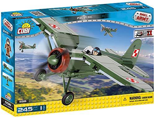 COBI - PZL P-11 c, avión, color verde (5516) , color/modelo surtido