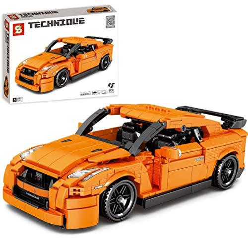 ColiCor Technic Sports Car Model, 908pcs Kits de modelismo de Coche Deportivo para Speed Champions, Technic Modelo Juguete de Coche de Carreras Compatible con Lego
