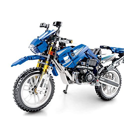 Technic Modelo de Off-Road Motocicleta, ColiCor 799pcs Juego de construcción de Technic Motocicleta Bloques para V4 Motocicleta, Compatible con Lego Technic